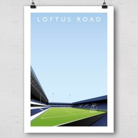 Championship Current Grounds Football Print - Football Gifts