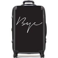 Medium Bye Black Suitcase - Black Gifts