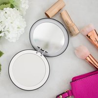 Coco LED Compact Mirror And Powerbank - Lulu Guiness Scattered Lips - Gadgets Gifts