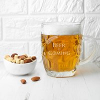 Game of Thrones Beer is Coming Glass - Glass Gifts