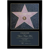 Personalised Star of Fame - Prezzybox Gifts