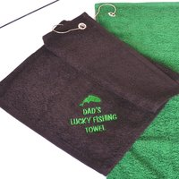 Personalised Fishing Towel - Personalised Gifts Gifts
