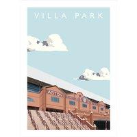 Villa Park Football Ground Print - Football Gifts