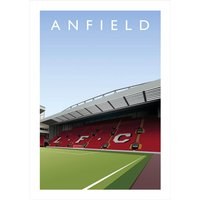 Anfield Football Ground Print - Football Gifts