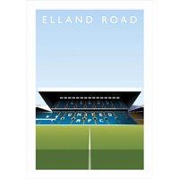 Elland Road Football Ground Print - Football Gifts