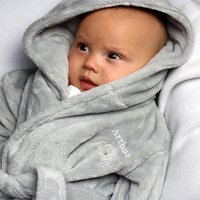 Personalised Hooded Ears Baby Dressing Gown - Baby Gifts