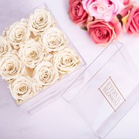 One Year Roses Make Up Box - 9 Piece - Makeup Gifts