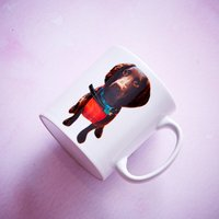 Personalised Cut Out Photo Mug - Personalised Gifts