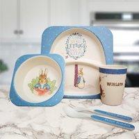 Personalised Peter Rabbit Bamboo Breakfast Set - Personalised Gifts
