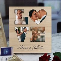 Personalised Love Photo Keepsake Box - 9 Compartments - Personalised Gifts