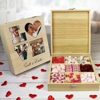 Personalised Love Photo Sweet box - 9 Compartments - Personalised Gifts