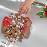 Personalised Chocolate Smash Heart - Personalised Gifts