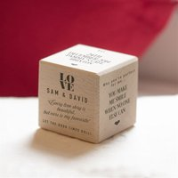 Personalised Love Story Dice - Anniversary Gifts