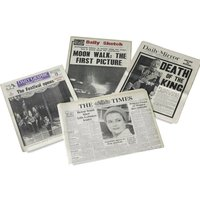 Original Archive Newspaper in Gift Box - Prezzybox Gifts