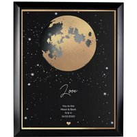 Personalised You Are My Sun My Moon Black Framed Print - Personalised Gifts