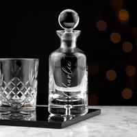 Personalised Engraved Decanter - Personalised Gifts