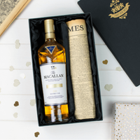 Macallan Double Cask Gold Whisky and Original Newspaper - Alcohol Gifts