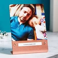 Personalised Metal Photo Print - Copper - Personalised Gifts