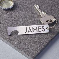 Personalised Keyring Bottle Opener - Personalised Gifts