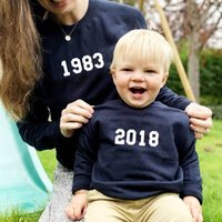 Personalised Mummy and Me Year Jumpers - Personalised Gifts
