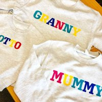 Personalised Rainbow Any Name Jumper - Personalised Gifts