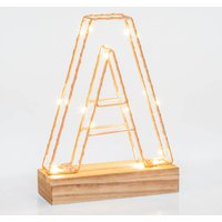 Light Up Letters Wire Frame - Frame Gifts