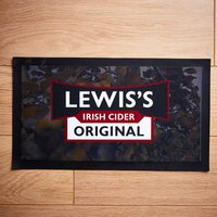 Personalised Name Cider Bar Mat - Personalised Gifts