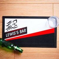 Personalised Name Bar Mat - Personalised Gifts