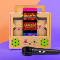 Make Your Own Cardboard Karaoke