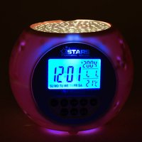 Star Projection Alarm Clock and Relaxation Sound Machine - Gadgets Gifts