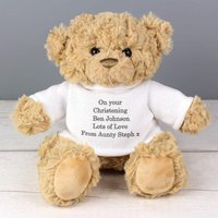 Personalised Teddy Bear with Jumper - Clothes Gifts