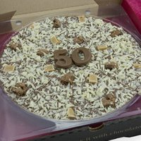 50th Birthday Chocolate Pizza 10