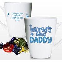 Personalised Worlds Best Daddy Mug