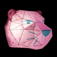 Make Your Own Leopard Head Paper Light