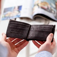 Personalised Initials Vegan Cork Wallet - Wallet Gifts