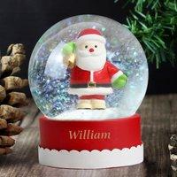 Personalised Santa Snow Globe - Prezzybox Gifts