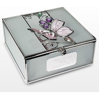 Personalised Butterfly Trinket Box - Box Gifts
