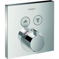 Hansgrohe ShowerSelect afbouwdeel inbouwdeel ibox bad-douchethermostaat chroom 15763000