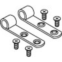 PRESSALIT set scharnierbladen met schroeven RVS (A9108)