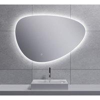 Spiegel Wiesbaden Uovo Organisch Dimbaar LED Verlichting Condensvrij 90 cm