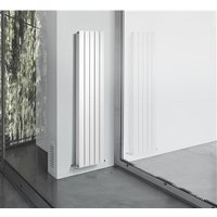 Thermrad AluStyle verticale designradiator 203,3 x 24 cm (H X L) wit