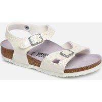 Birkenstock - Rio Birko Flor - Sandalen für Kinder / weiß
