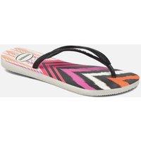 SALE -10 Havaianas - Slim Tribal - SALE Zehensandalen für Damen / weiß