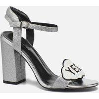 COSMOPARIS - Jokes/Diam - Sandalen für Damen / silber