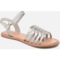 SALE -50 I Love Shoes - KEGLIT Leather - SALE Sandalen für Kinder / silber