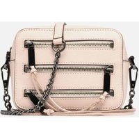 SALE -50 Rebecca Minkoff - 4 ZIP MOTO CAMERA BAG - SALE Handtaschen / rosa