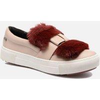 SALE -50 Karl Lagerfeld - Luxor Kup PomBow Slip On - SALE Sneaker für Damen / rosa