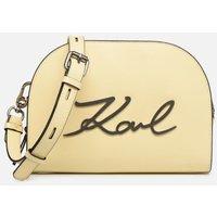 SALE -40 Karl Lagerfeld - k/signature big crossb (tacco) - SALE Handtaschen / gelb
