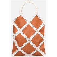 SALE -40 Facteur Céleste - DONNA MOTTLED PLASTIC - SALE Handtaschen / braun