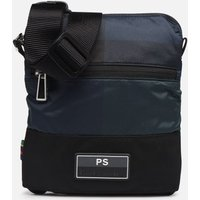 SALE -50 PS Paul Smith - MEN BAG FLIGHT CHECK NYL - SALE Herrentaschen / blau